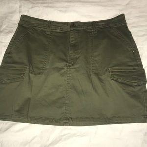 Forever 21 Army Green Skirt